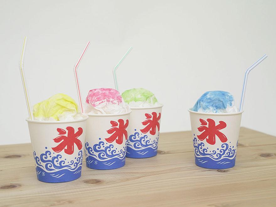 【夏祭り】かき氷-工作